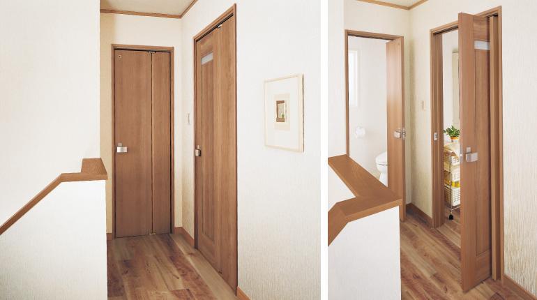 匠恒   能在有限的空间里有效开启的门