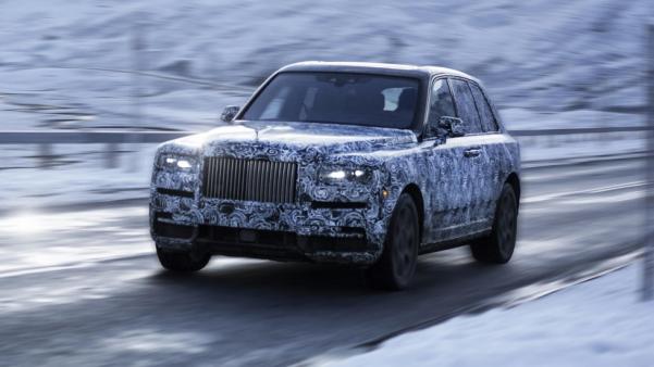 劳斯莱斯首款SUV首曝光,大佬派头十足,600万未必买得到,究竟值不值得?