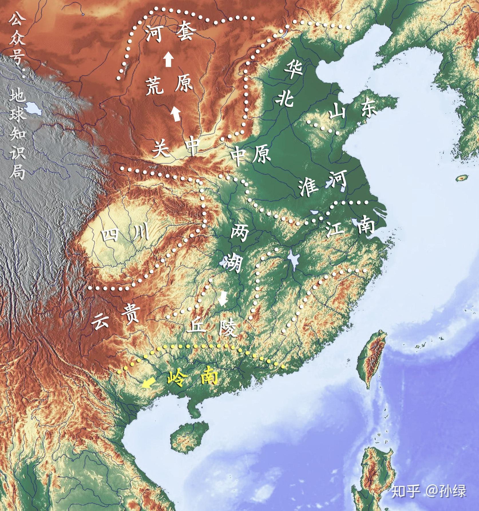 南越国疆域图_山西 河南 太原 重庆 怎么都跑到越南去了?地球知识局 - 知乎
