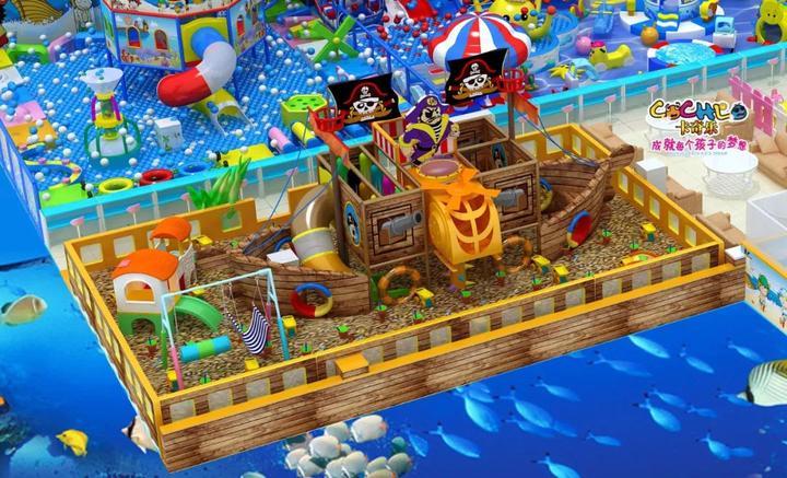 2020年儿童淘气堡乐园主题风格大盘点! 加盟资讯 游乐设备第8张