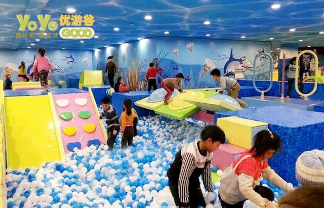 开家200平米的儿童乐园投资多少钱? 加盟资讯 游乐设备第1张