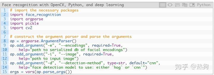 dlib 使用OpenCV,Python和深度学习进行人脸识别源代码- 知乎