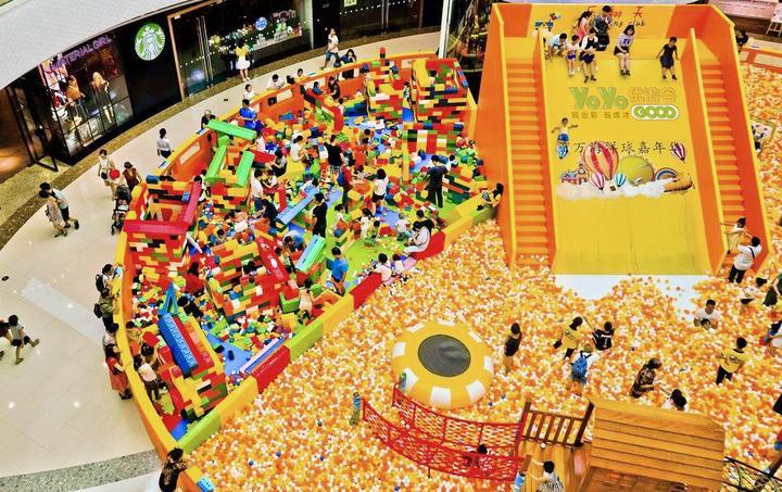 儿童乐园如何投资可以快速回本? 加盟资讯 游乐设备第1张