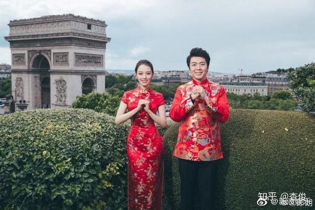 淄博-王-玉与刘-新婚_祝郎朗新婚快乐!
