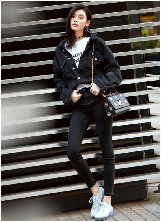 牛仔短裤怎么配鞋子_有哪些身高170左右穿衣很有品味的女明星?应该怎么向她们学习 ...