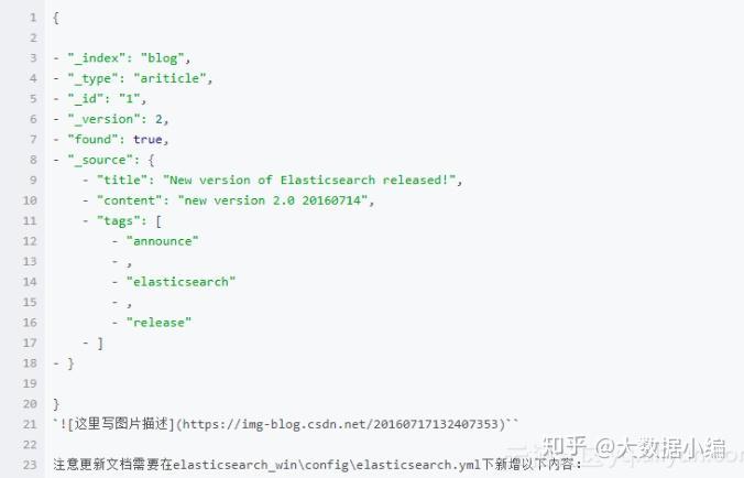 Elasticsearch增、删、改、查操作深入详解(Elasticsearch教程02