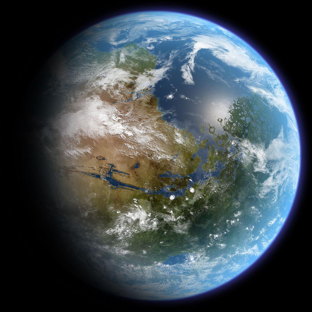 【历史设定】火星地球化