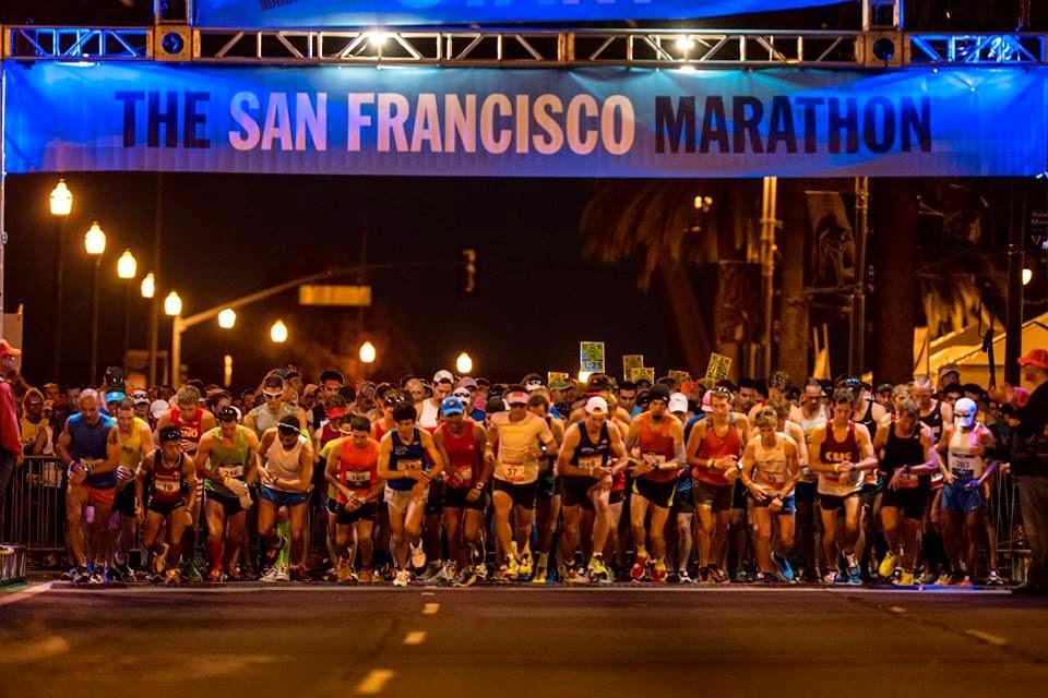 坚持跑步4个月会发生什么?报个旧金山马拉松