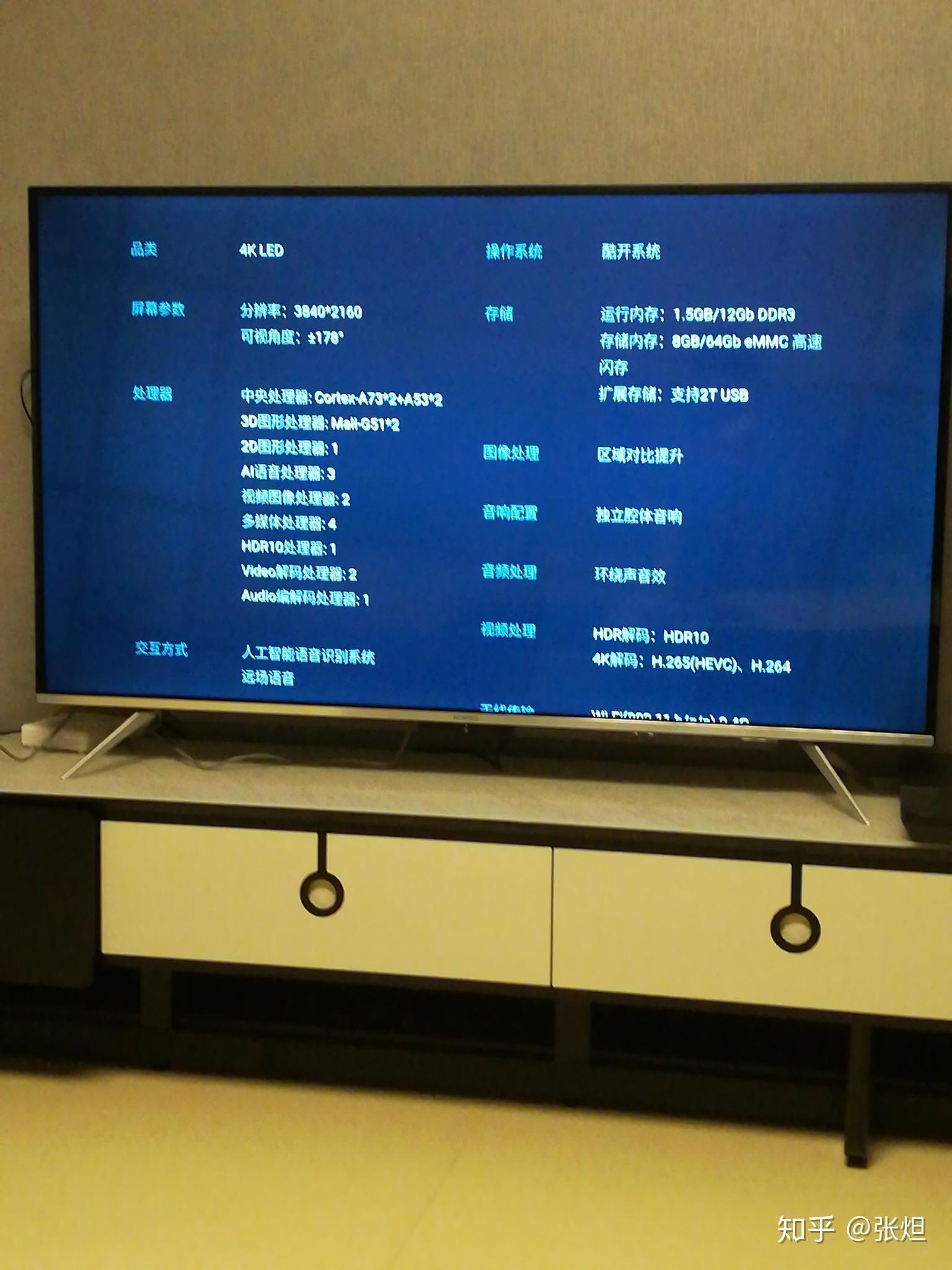 创维电视后面的接口图