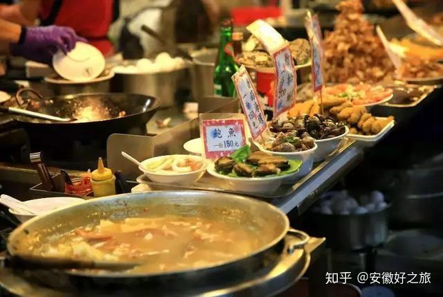正宗台湾10大夜市美食图片