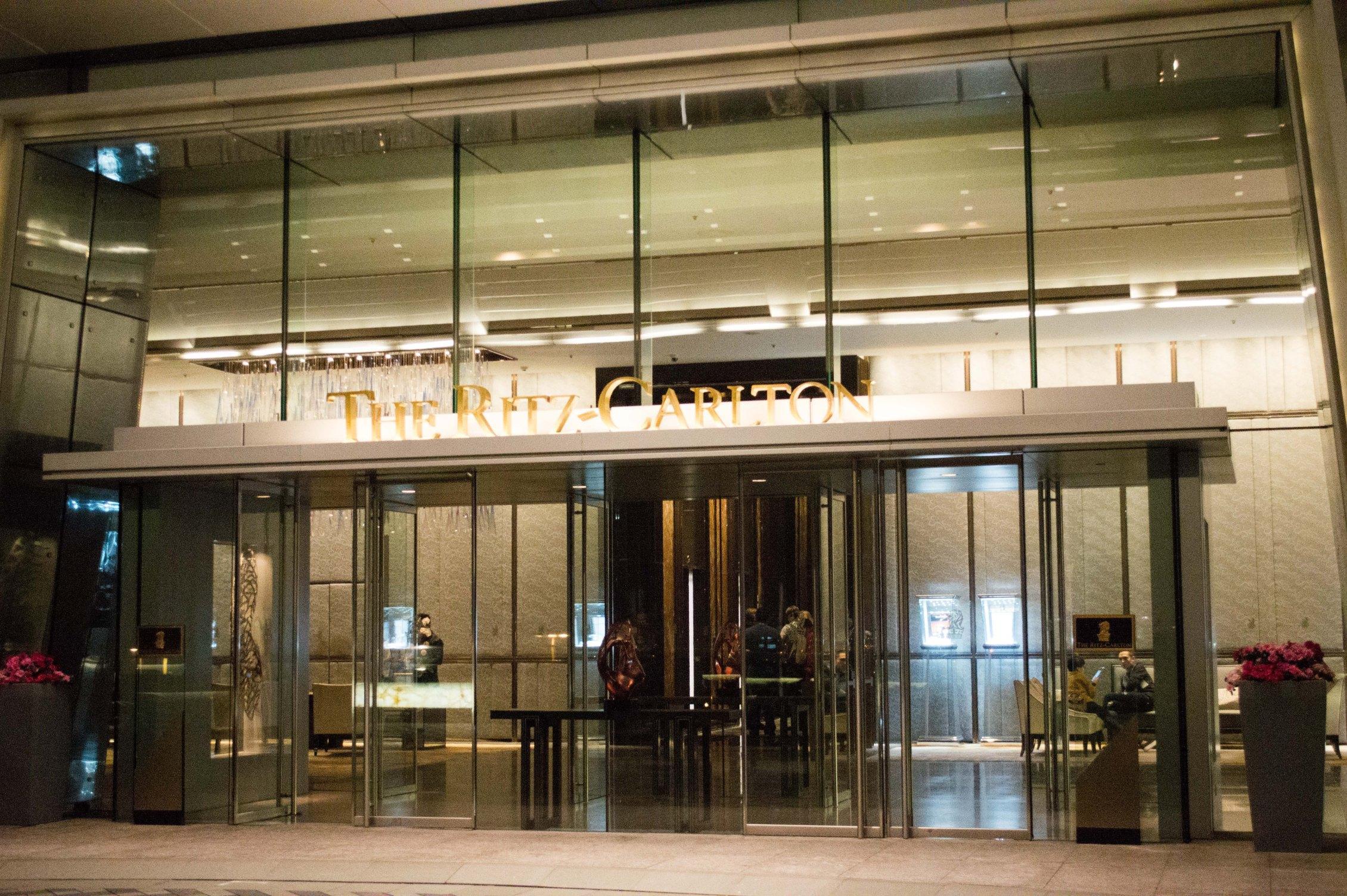 上下九地铁站_世界上最高的酒店 -- 香港丽思卡尔顿酒店入住体验 - 知乎