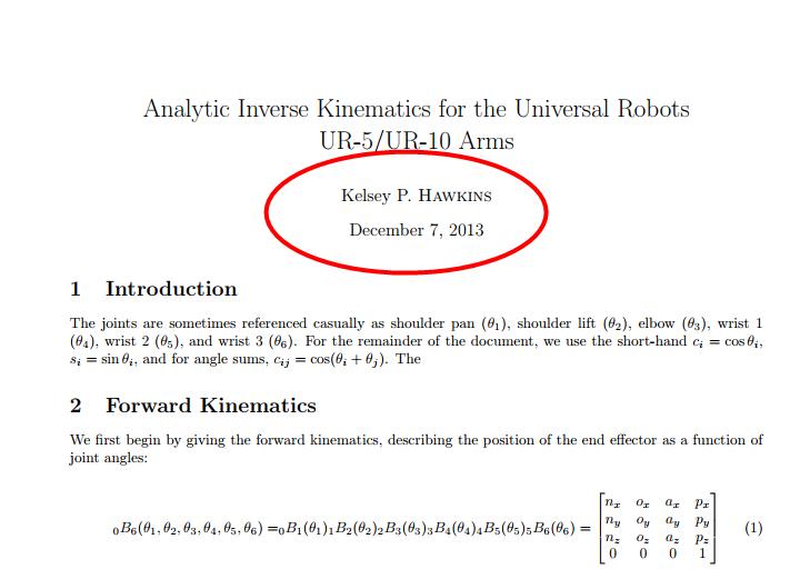 国外一篇关于Universal Robot 机器人(或称UR机器人、优傲机器人