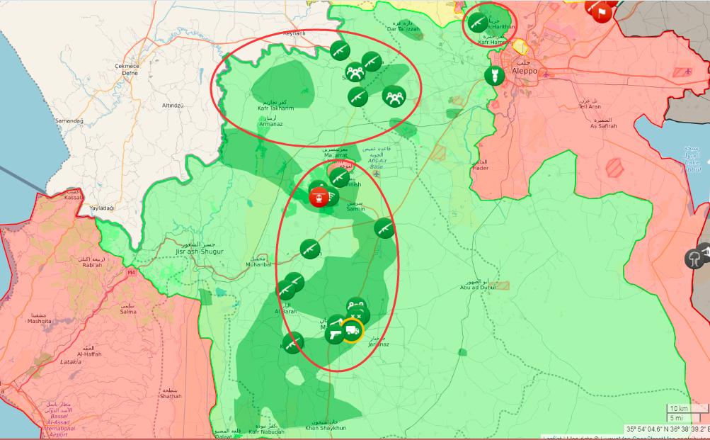 如何看待2017\/1\/20 叙利亚伊德利卜省内反对派