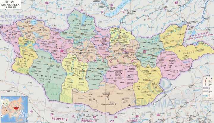地缘政治(22):如果蒙古国有几千万人口,会怎样影响世界格局?│脫苦海