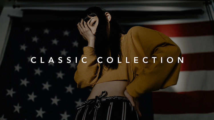 【P267】时尚街拍人像胶片预设Mango Street Classic Collection Lightroom Presets