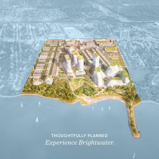 Brightwater:彻底改变密市Port Credit 湖滨布局的一个超级大盘