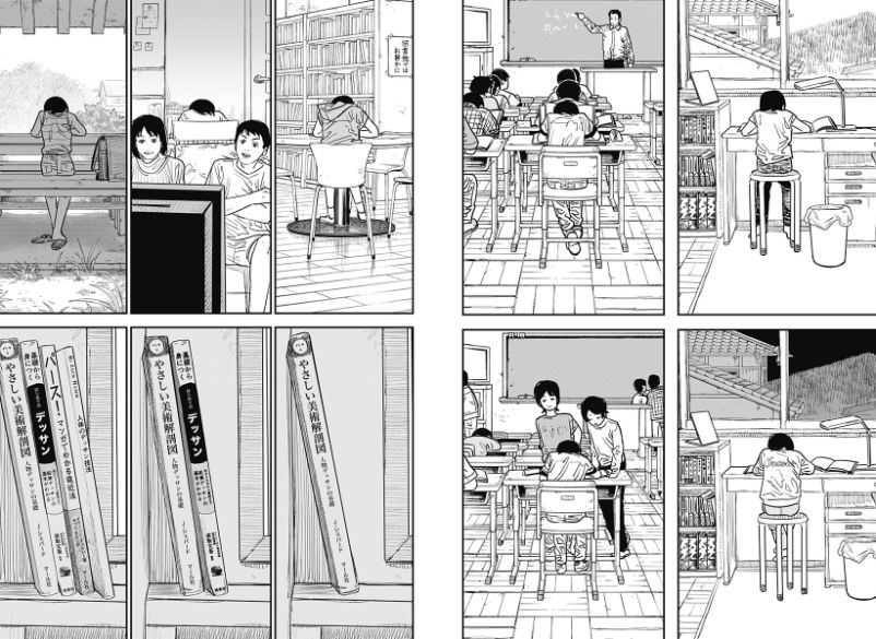 如何评价 7 月 18 日放出的藤本树的短篇漫画《look back》(蓦然回首)?