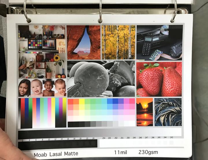 展览级的照片是如何打印出来的?