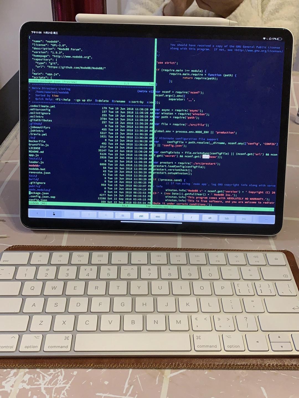 非典型程序员 iPad Pro 2018 生产力报告