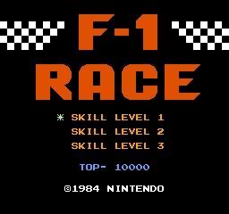 【小游戏】任天堂在F-1赛车/F-1 RACE中隐藏的小心机