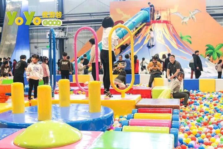 在商场开一家200平米的儿童乐园可行吗? 加盟资讯 游乐设备第2张