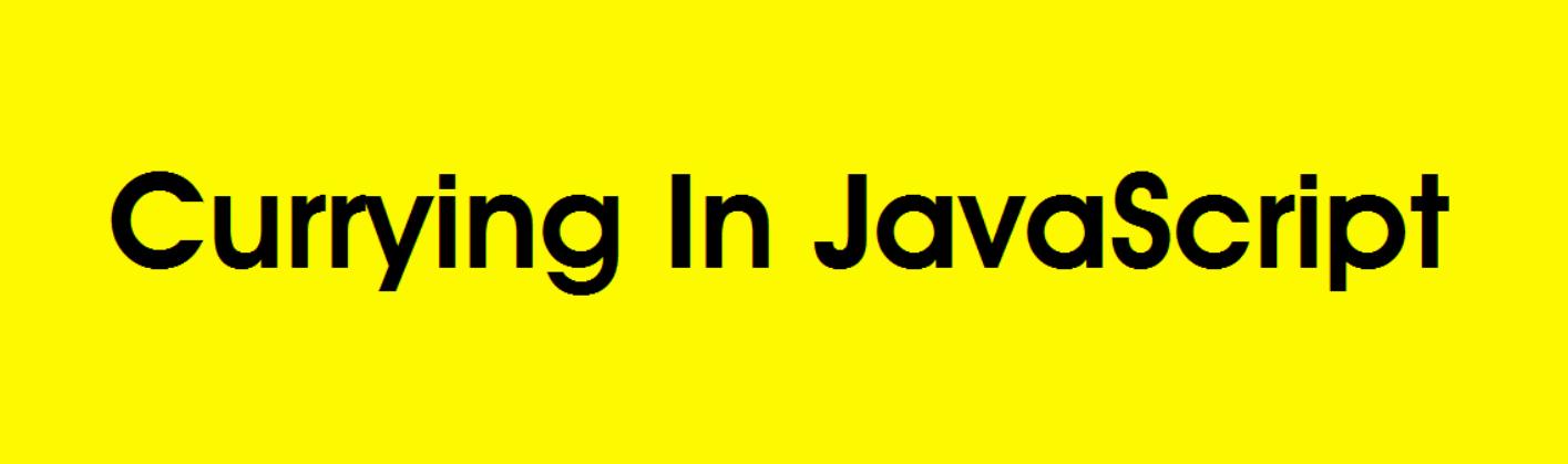 「译」理解JavaScript的柯里化