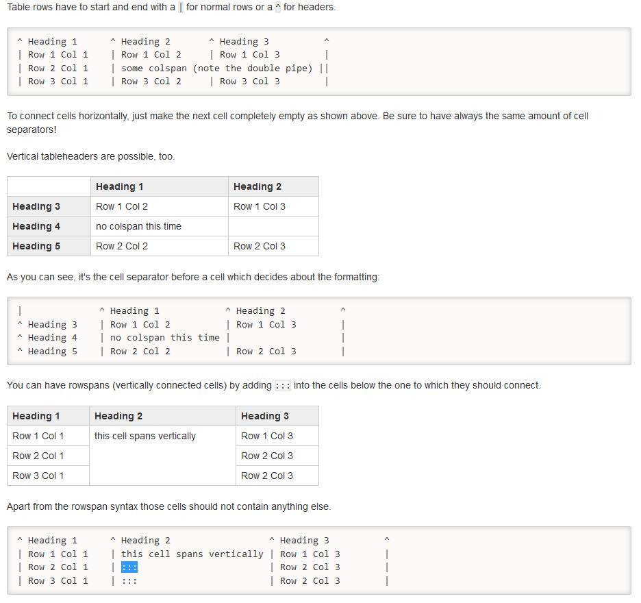 markdown的表格语法能合并单元格吗?