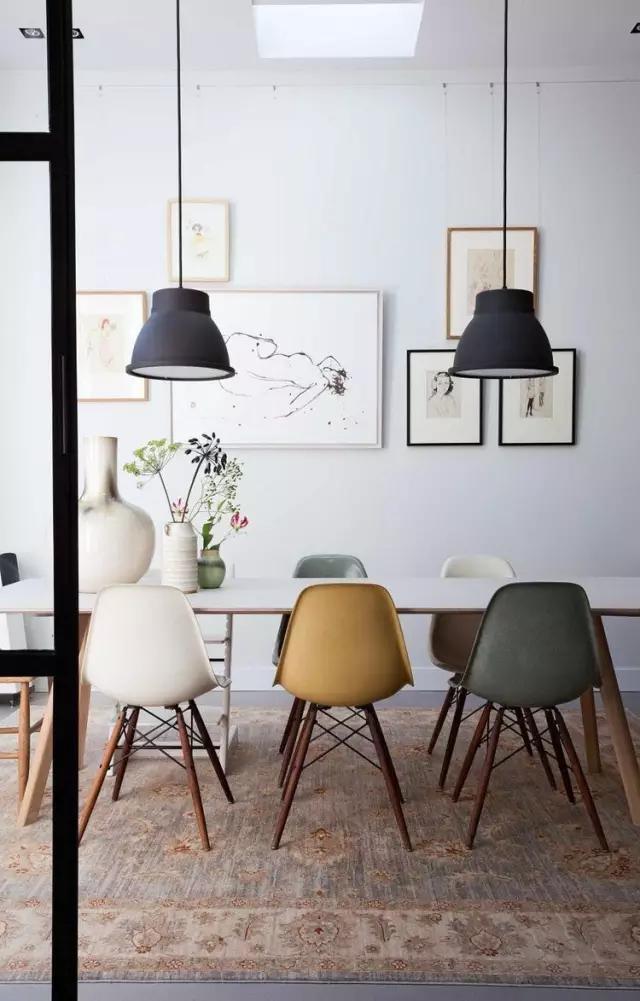 适合用在餐桌书桌,颜值高坐着舒服的经典木椅子也就那么几把