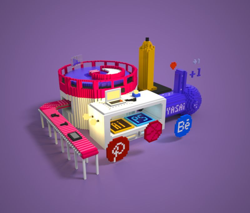 像素爱好者的超级玩具——Magicavoxel