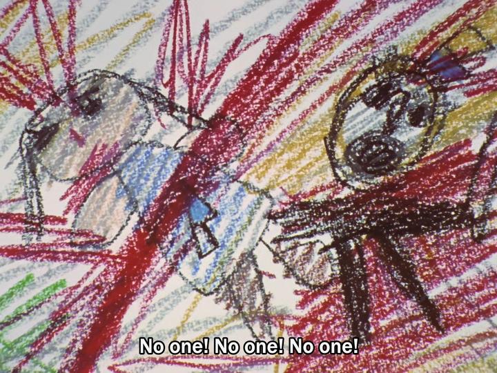 EVA《新世纪福音战士》有那些细思恐极的情节或片段?