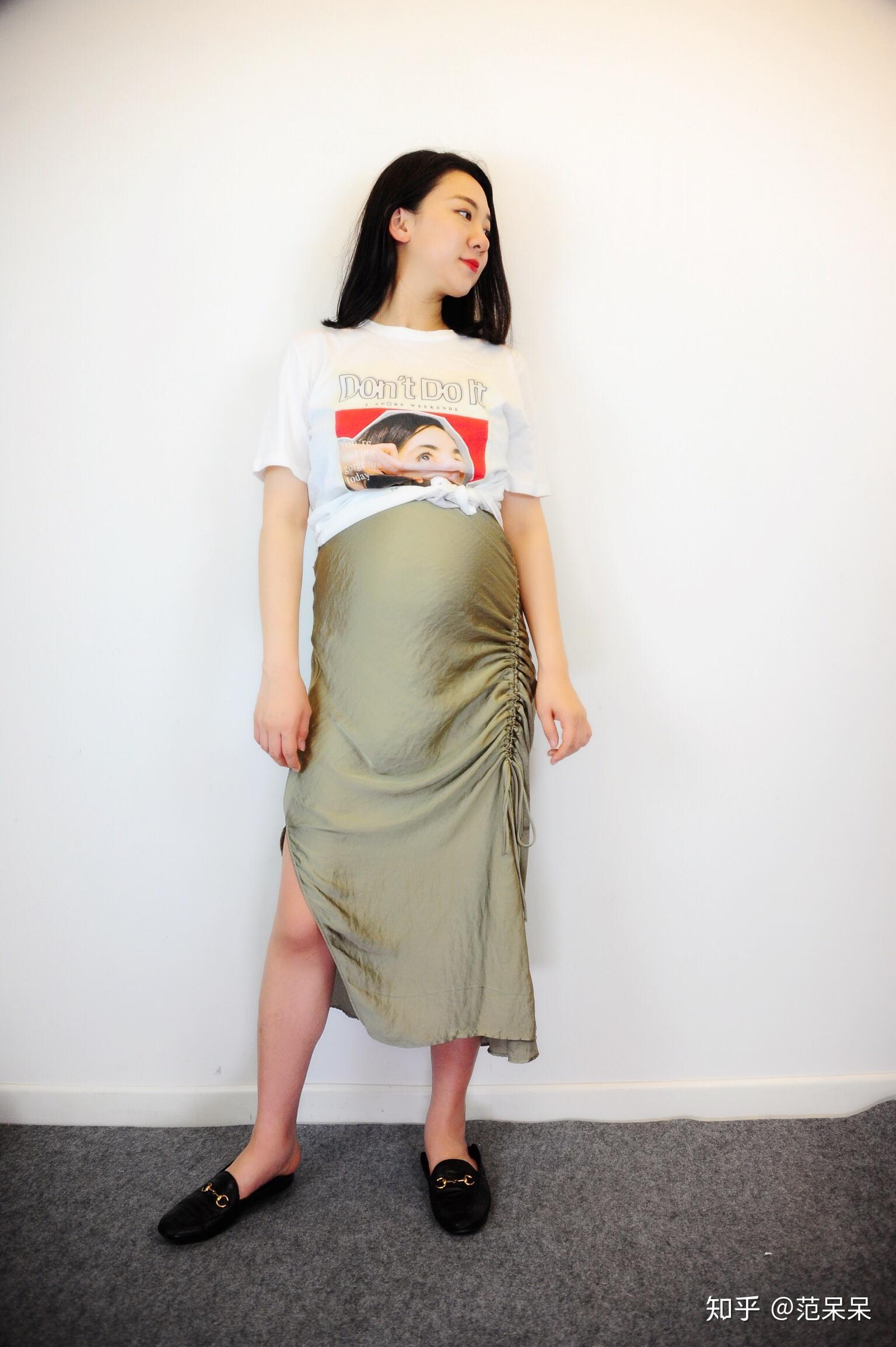紧身衣服_孕妇穿什么衣服怎么搭配会比较好看? - 知乎