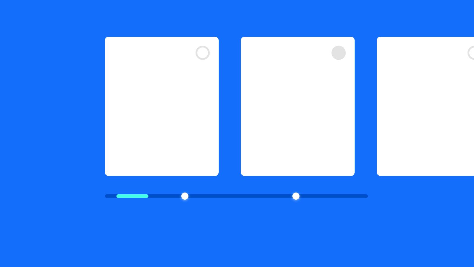 交互概念设计 – 隐藏式横向滚动标记条