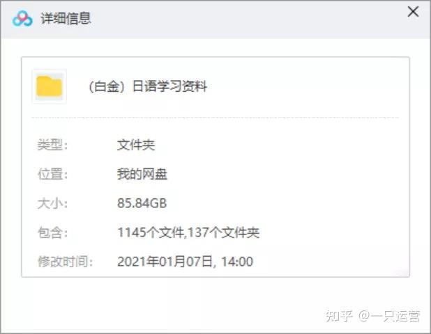 某日语培训机构85GB资料泄露,随时取消分享,快领!!! 第1张