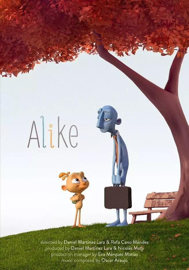 短片《相似 alike》:重点谈儿童艺术素质教育