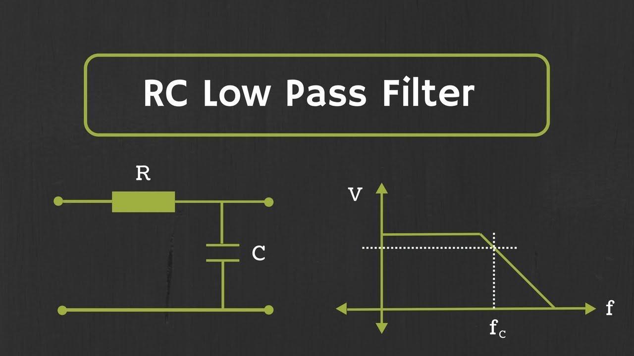 电容基础5——RC低通滤波器和RC高通滤波器