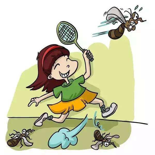 新创意:自主飞行捕蚊蝇拍