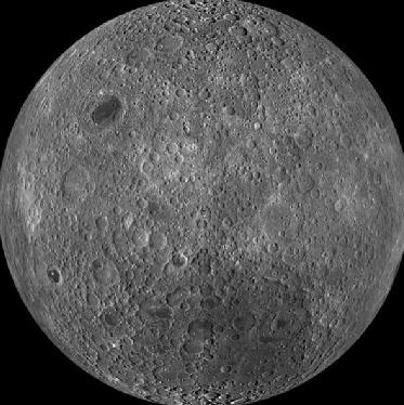 月球背面图片_月球的背面是什么和正面是一样的吗 - 知乎