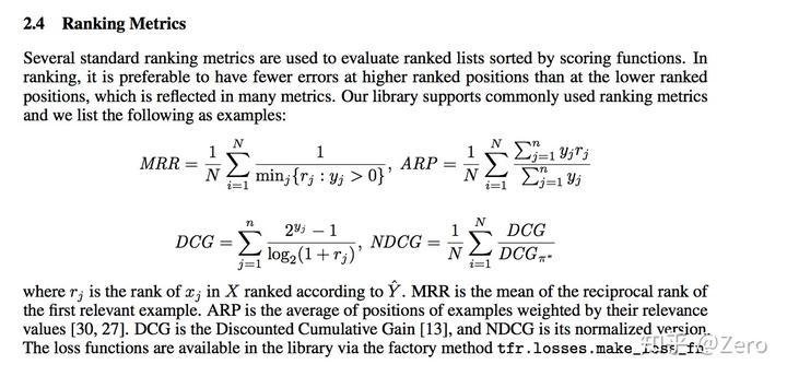 论文笔记:TF-Rank到底实现了什么- 知乎