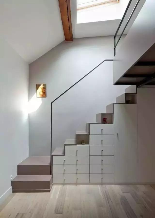 抽屉式收纳柜_房屋哪些楼梯设计最实用? - 知乎