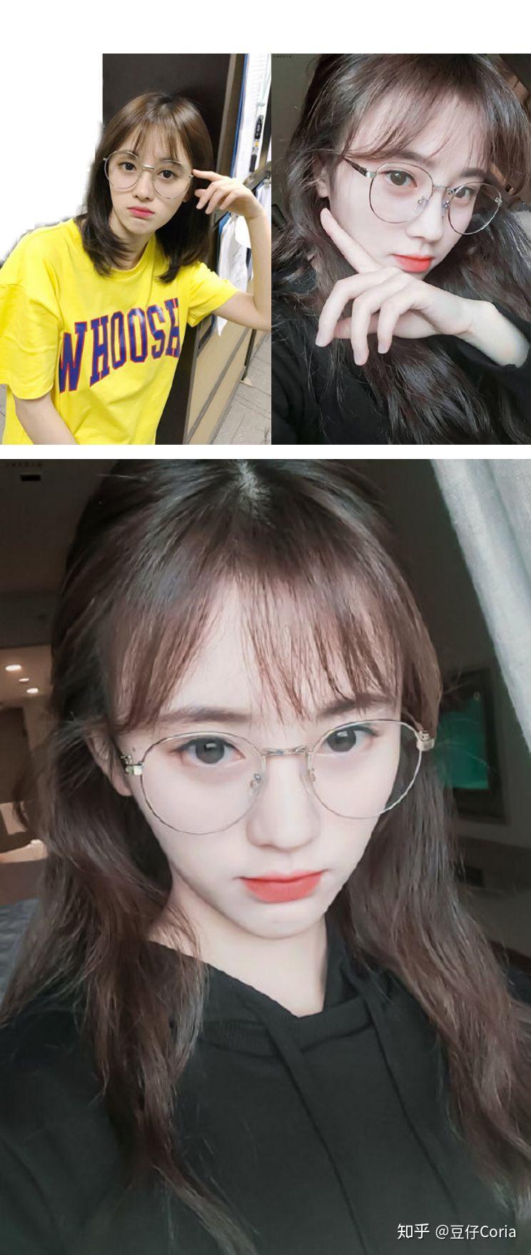 眼镜框女生图片_不同脸型怎么选眼镜框?这是一篇颠覆你想象的镜框选购指南 ...