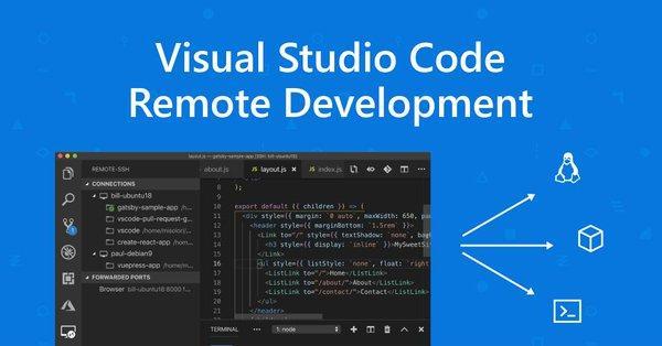 微软正式宣布 VS Code 远程开发组件包