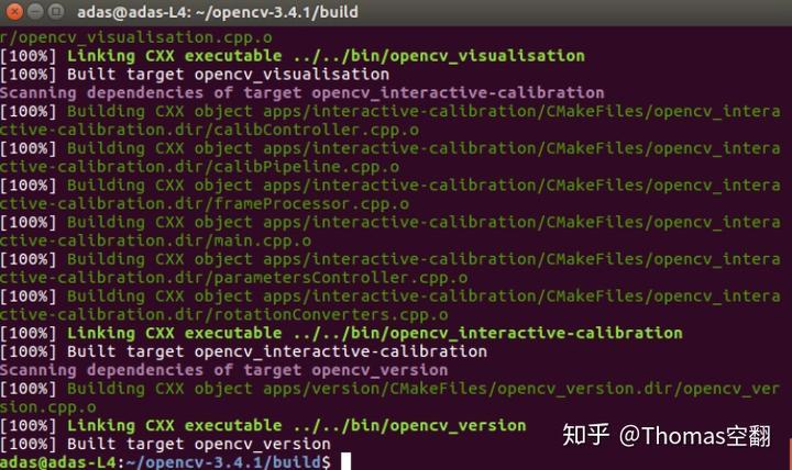 Install Opencv3 4 1 on Ubuntu 16 04 喝Caffe第一包- 知乎