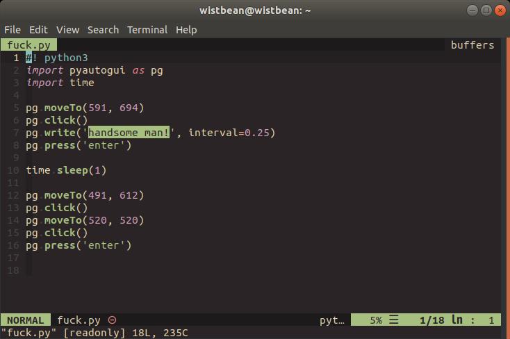 使用 Python 控制自己的电脑和键盘是一种什么样的体验?