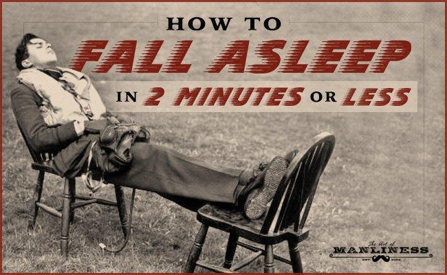 如何在 2 分钟内入睡(二战时期美国飞行员训练法)