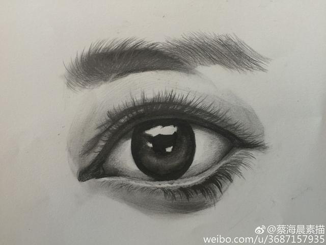 动漫素描画法_素描眼睛的画法,详细步骤稿 - 知乎