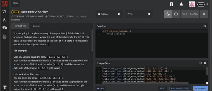 CodeWars|编程打怪升级平台- 知乎