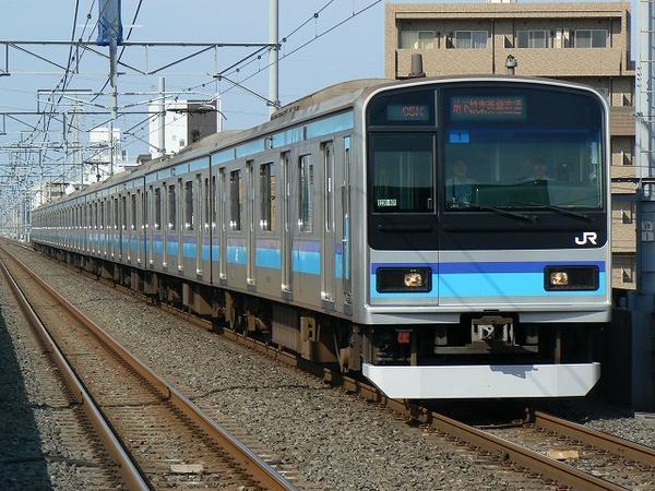 是jr鐵路公司為了列車能夠駛入東京的地鐵線路,基于e231系專門開發的圖片