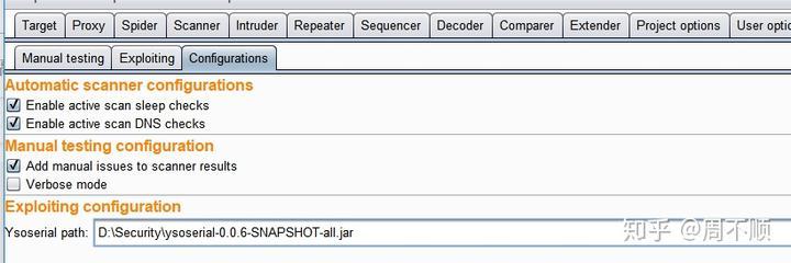 webgoat-反序列化漏洞利用-Java Deserialization Scanner使用- 知乎