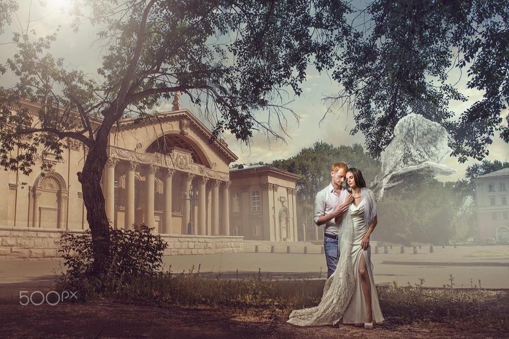 【S515】俄罗斯摄影师 Dmitry Usanin 文艺复兴时期婚礼照片后期合成与光影塑造教程