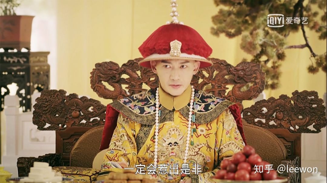 清朝皇后朝珠画像_如何评价《延禧攻略》的服装造型? - 知乎